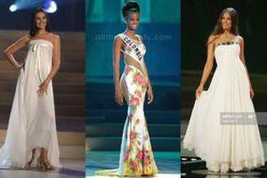 Những đầm dạ hội Miss Universe bị chê xấu tệ hại: Bộ giống váy ngủ, bộ lại bị ví như rèm cửa