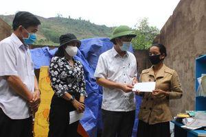 Quảng Trị: Kịp thời hỗ trợ các gia đình có nhà cửa bị thiệt hại do dông lốc