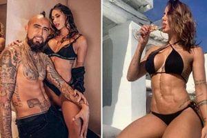 Bạn gái 'nghiện gym' khoe ảnh cùng Vidal sau khi tái hợp