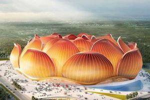 Trung Quốc bắt đầu xây dựng sân vận động bóng đá lớn nhất thế giới