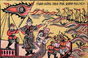 Chiến địa Bạch Đằng năm 1288, hai vua Trần bắt sống Ô Mã Nhi