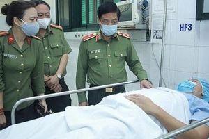 Xử lý nghiêm đối tượng liều lĩnh lao xe vào cảnh sát khiến một Trung úy trọng thương