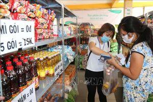 Siêu thị hạnh phúc 0 đồng dành cho người nghèo mùa dịch COVID-19 ở TP Hồ Chí Minh