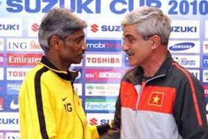 HLV Rajagobal: 'Đội tuyển Malaysia chưa thể bằng Việt Nam'