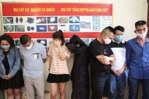 Nghệ An: Bắt 7 đối tượng sử dụng ma túy trong khách sạn