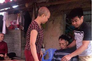 Bắc Giang: Xót xa hoàn cảnh hai vợ chồng đều bị ung thư quái ác