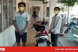 Bắt giữ 2 đối tượng trộm xe máy ở TX. Tân Châu