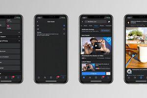 Những bức ảnh đầu tiên hé lộ chế độ Dark Mode của Facebook trên iOS