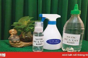 Thử nghiệm và chuyển giao quy trình sản xuất dung dịch rửa tay khô sát khuẩn phòng chống Covid-19