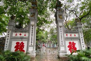 Hà Nội: Các khu di tích, cơ sở tín ngưỡng chấp hành nghiêm lệnh đóng cửa