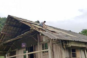 Tuyên Quang khẩn trương khắc phục 74 ngôi nhà bị tốc mái