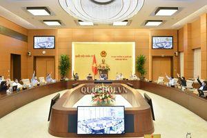 UBTVQH thông qua Nghị quyết thành lập 3 thị xã thuộc tỉnh Thanh Hóa, Phú Yên và Bình Định