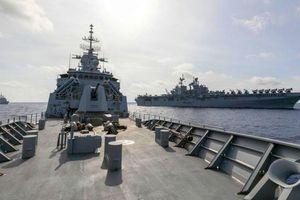 Việt Nam lên tiếng việc Mỹ, Australia điều chiến hạm tới Biển Đông tập trận