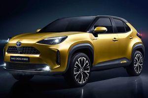 Tân binh Toyota được diện kiến tại thị trường châu Âu