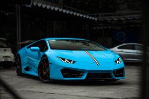 Lamborghini Huracan cầu sau đầu tiên tại VN được nâng cấp ngoại hình