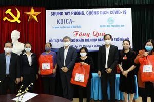 KOICA hỗ trợ phòng chống dịch COVID-19 tại Việt Nam