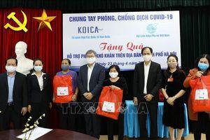 KOICA hỗ trợ Hội Liên hiệp Phụ nữ Việt Nam chung tay phòng, chống dịch COVID -19