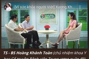 Sản phẩm xương khớp Mộc Thanh: Dấu hiệu quảng cáo lừa dối người tiêu dùng?
