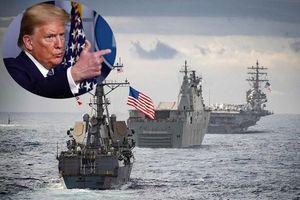 Vì sao ông Trump nôn nóng, ra lệnh tiêu diệt tàu Iran 'cà khịa' tàu chiến Mỹ?