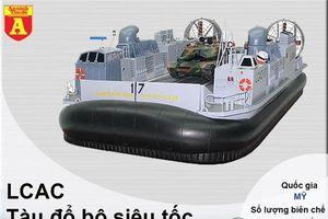 Mỹ bất ngờ rút 'hầu bao' mua tới 15 siêu tàu đổ bộ đệm khí