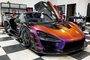 Siêu xe McLaren độ màu Senna Galactic Burst Effect hơn 3 tỷ đồng