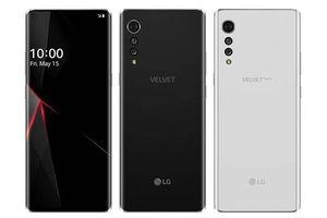 LG Velvet lộ toàn bộ thông số kỹ thuật trước thềm ra mắt