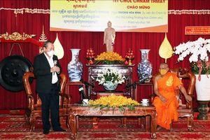Phó Thủ tướng Thường trực Trương Hòa Bình chúc mừng Tết cổ truyền Khmer Chol Chnam Thmay