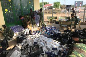 Biên giới Tây Nam: Giá chênh lệch, buôn lậu thuốc lá tăng