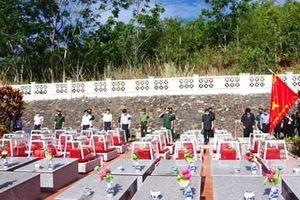 Lễ viếng, truy điệu và an táng hài cốt liệt sĩ hy sinh tại Lào và Campuchia