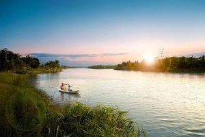 Cảnh sắc tuyệt đẹp trong công viên sinh thái lớn bậc nhất phía Đông Hà Nội