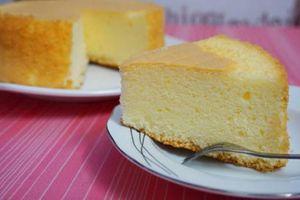 Cách làm cốt bánh Gato (bánh bông lan) xốp, mềm, mịn cực đơn giản