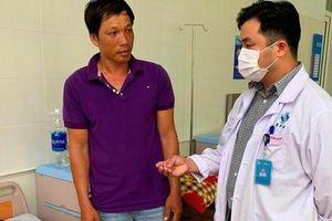 Quảng Ngãi: Cứu chữa bệnh nhi 14 tuổi ở đảo Lý Sơn bị thủng dạ dày