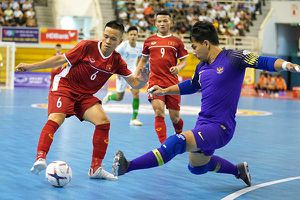 Đội tuyển futsal Việt Nam xếp hạng 9 châu Á