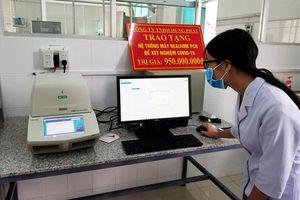 Máy xét nghiệm SARS-CoV-2 doanh nghiệp tặng Lâm Đồng chưa tới 1 tỷ đồng