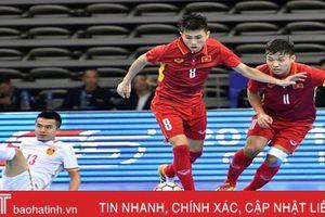 ĐT futsal Việt Nam góp mặt trong top 10 đội tuyển hay nhất châu Á