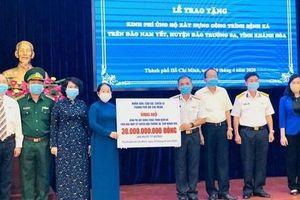 TPHCM tặng 30 tỷ đồng xây dựng Bệnh xá ở Trường Sa
