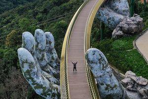Hình chụp cầu Vàng thắng giải nhiếp ảnh kiến trúc toàn cầu