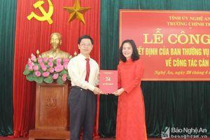 Tin bổ nhiệm lãnh đạo mới tại TP.HCM, An Giang, Nghệ An