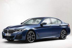 BMW 5-Series bản facelift lộ diện với thiết kế hoàn toàn mới