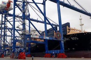 Tiếp tục thử nghiệm đón siêu tàu container 132.900 DWT vào cảng HICT Hải Phòng