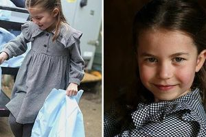 Hôm nay Công chúa Charlotte tròn 5 tuổi, xuất hiện trong bộ ảnh độc đáo và ý nghĩa chưa từng thấy