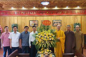 Thái Nguyên : Chính quyền tỉnh chúc mừng Phật đản