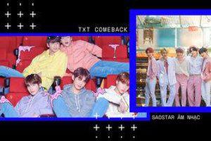 Knet so sánh hình ảnh TXT lúc mới debut và trong mini-album mới nhất