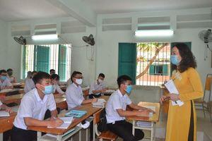 Học sinh 270 trường học trên địa bàn tỉnh đi học trở lại