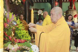 Trang nghiêm lễ Tắm Phật tại chùa Phước Hưng