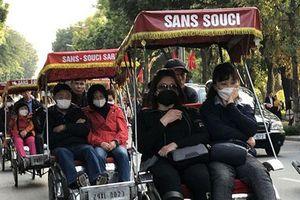 Khách du lịch đến Hà Nội dịp lễ giảm trên 90%