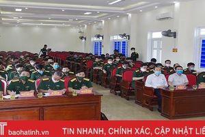 Công bố quyết định giải thể Trường Quân sự tỉnh Hà Tĩnh