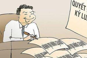 UBKT Tỉnh ủy Quảng Bình yêu cầu xử lý kỷ luật Chủ tịch UBND phường Nam Lý và 2 cán bộ công chức địa chính