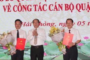 Nhân sự mới Hải Phòng, Nghệ An, Hà Tĩnh