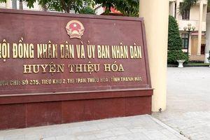 Huyện Thiệu Hóa tính khởi kiện chính quyền xã đòi khoản nợ 3,1 tỷ đồng